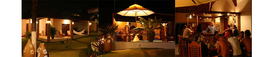Casa Dona Rosa by night