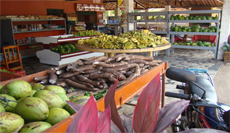 Fresh products in Cumbuco